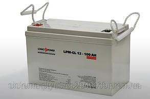 Аккумулятор  LPM-GL 12 - 100 AH LogicPower