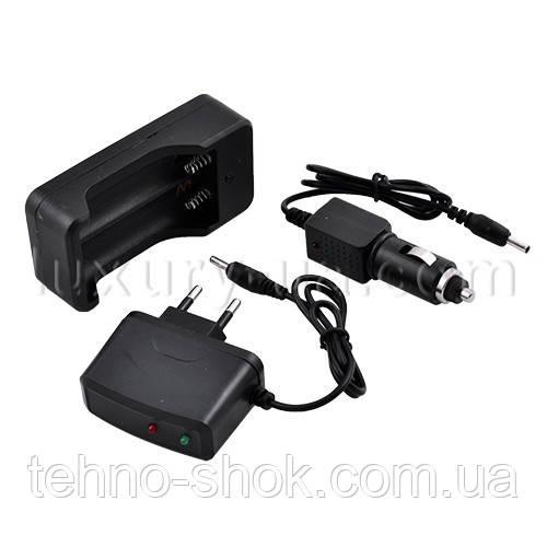 Зарядное устройство 403 (2*18650 от 220V или 12V)