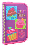 Пенал-книжка Smart 1 отд. 1 отв. Sweet dream 531691