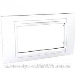 Рамка Unica Allegro 4-поста белый