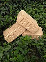 Древесные топливные брикеты  типа РУФ (RUF светлый ДУБ)