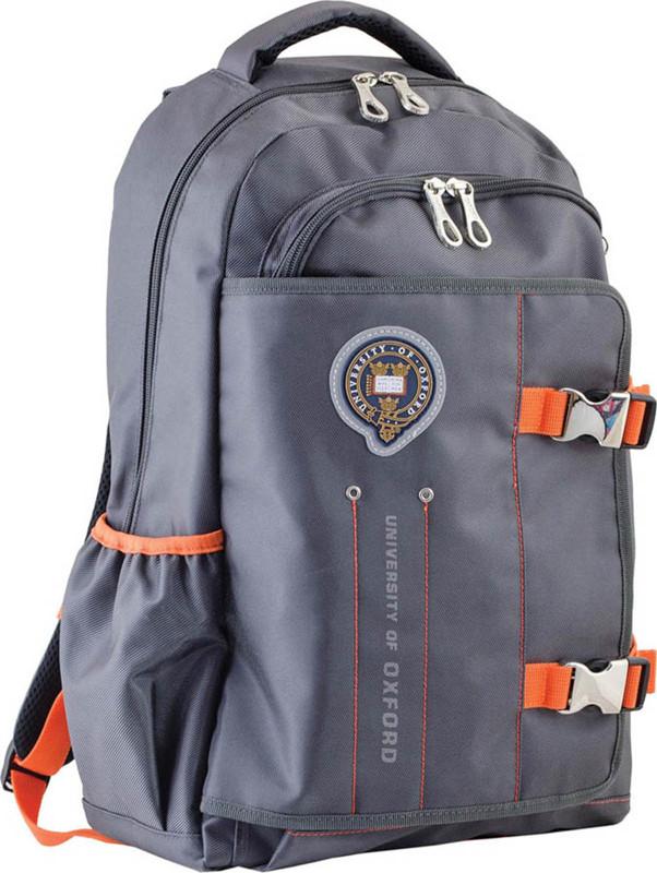 Рюкзак подростковый Yes OX 302 Oxford серый 554009