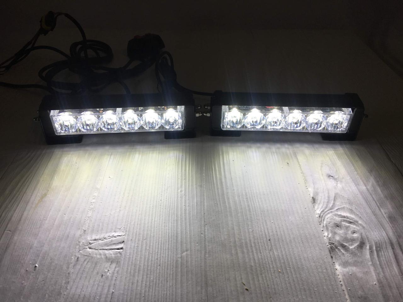 Стробоскоп LED S5-6 белый с функцией ДХО