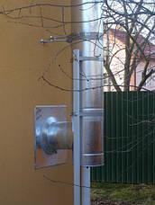 Труба-сэндвич дымоходная (термо) 0,5 метра 0,5 мм н/оц AISI 304, фото 3