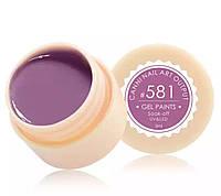 Гель-краска CANNI 581 (пастельный, розово-лиловый), 5 мл