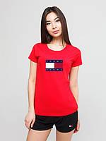 Женский комплект Tommy Jeans футболка+шорты, томми джинс, фото 1