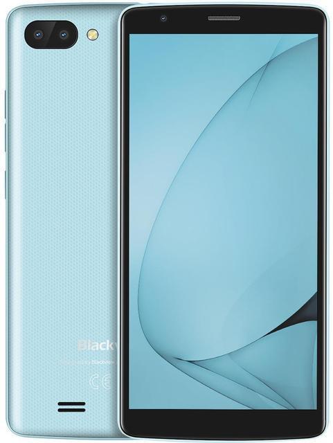 "Смартфон Blackview A20 Blue 1/8Gb, 5+0.3/2Мп, 2sim, 3000 мАч, MT6580M, 5.5"" IPS, 4 ядра, GPS, 3G"