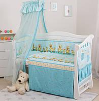 Детская постель Twins Standart С-025 Утята, голубая