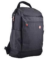 Рюкзак молодежный Yes USB port Biz черный 555397