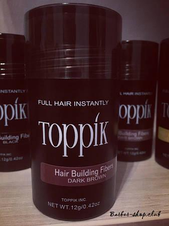 Загуститель для редких волос Toppik 12 гр. dark brown