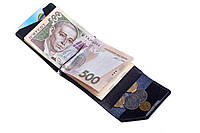 Зажим для денег Soldi, глянец, синий, фото 1