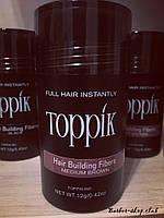 Загуститель для редких волос Toppik 12 гр. medium brown