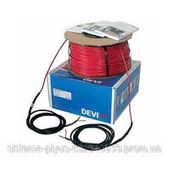 Нагревательный кабель DEVIbasic 20S 14 м  (230В)