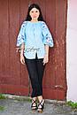 Блузка бохо вышитая, вышиванка лен, этно стиль, Bohemia, фото 2