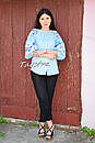 Блузка бохо вышитая, вышиванка лен, этно стиль, Bohemia, фото 3