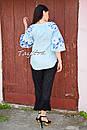 Блузка бохо вышитая, вышиванка лен, этно стиль, Bohemia, фото 4