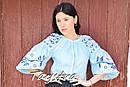 Блузка бохо вышитая, вышиванка лен, этно стиль, Bohemia, фото 6
