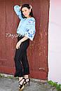 Блузка бохо вышитая, вышиванка лен, этно стиль, Bohemia, фото 5