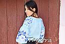 Блузка бохо вышитая, вышиванка лен, этно стиль, Bohemia, фото 8
