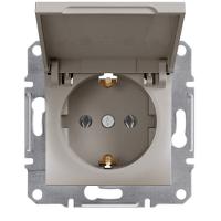 Розетка с заземлением (евророзетка) Schneider Electric Asfora (EPH3100169)