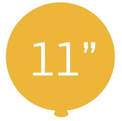 "Шары латекс 11"" (28 см)"
