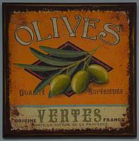 """Панно настенное """"Olives"""" (16х16 см.), фото 1"""