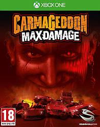 CarmaGeddon Max Damage XBOX ONE \ XBOX Seires X