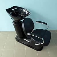 """Кресло - мойка парикмахерская стационарная для мытья волос """"ДенІС professional"""" AURA / АУРА"""