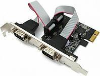 Контроллер STLab I-360 PCI-E, 2xCOM