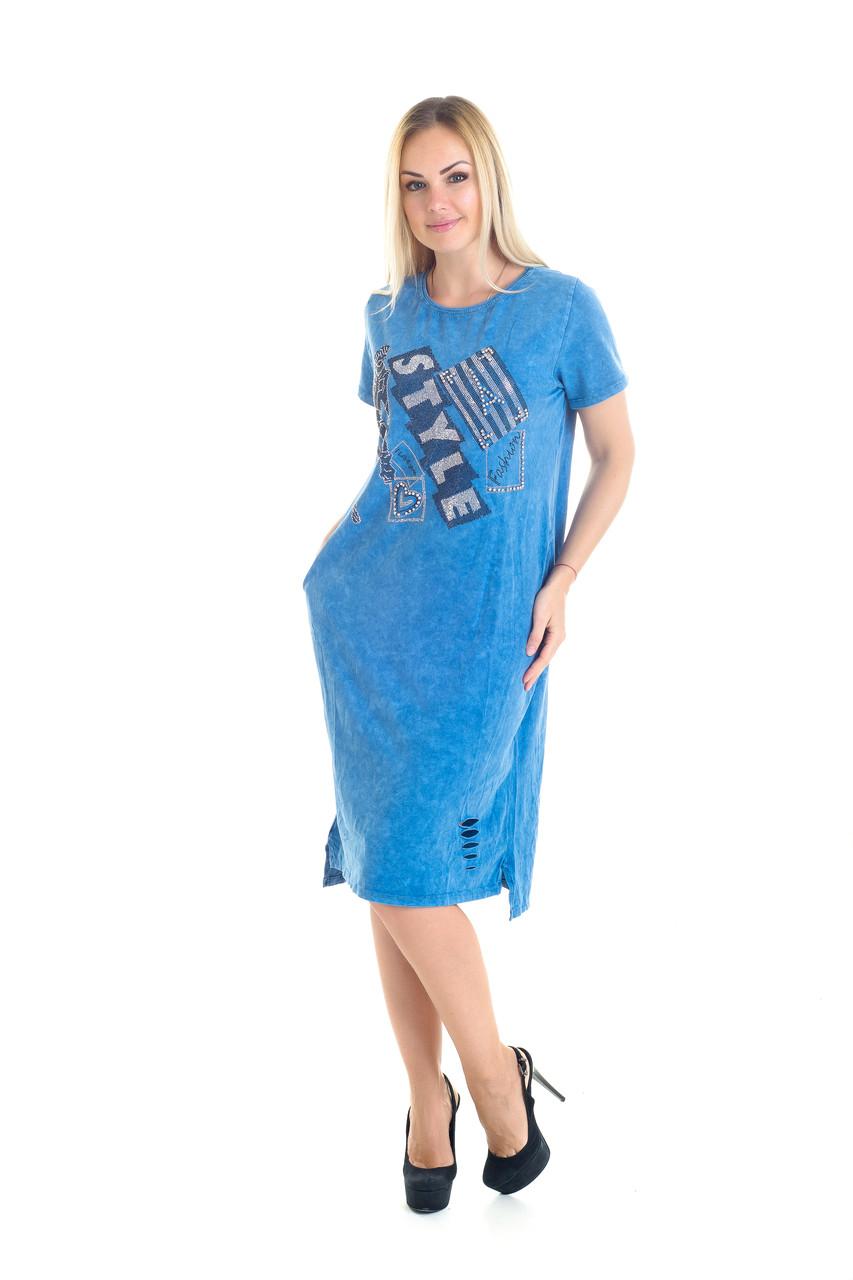 1231fb42cf2 Платье варенка Турция норма аппликация StyleFashion