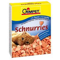 Gimpet Schnurries Витамины для кошек в виде сердечек №1 с курицей