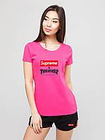 Женский комплект Supreme & Thrasher футболка+шорты, фото 1