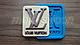 """Силиконовый молд """"Луи Виттон логотип"""", фото 2"""