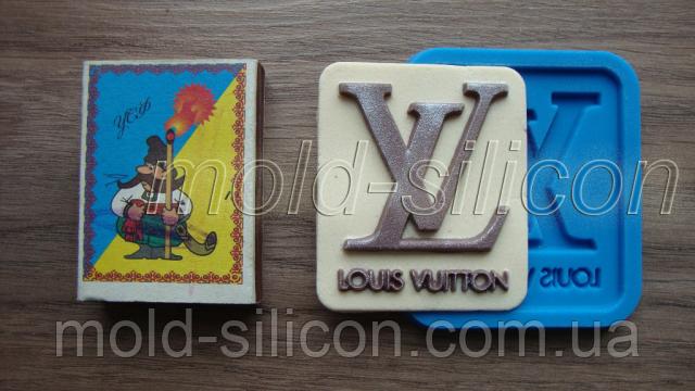 """Силиконовый молд """"Луи Виттон логотип"""""""