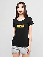 Женский комплект Thrasher футболка+шорты, фото 1