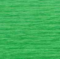 Креп папір світло зелена 563 Все для флористики і декору