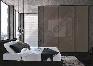 Шкаф купе крашенные панели, стекло - 03