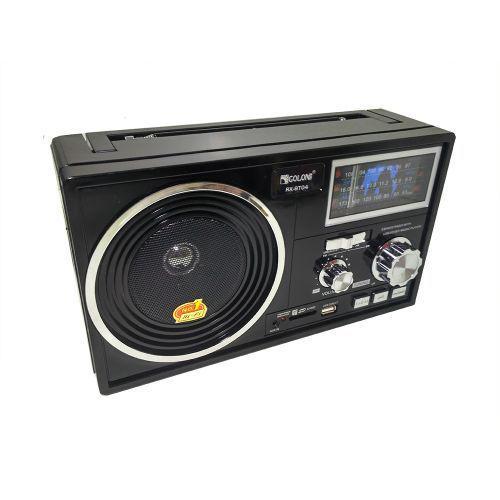 Портативная колонка радио MP3 USB Golon RX-BT04 c Bluetooth Black