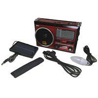 Портативная колонка MP3 USB Golon RX-277LSD Solar с солнечное панелью Wooden