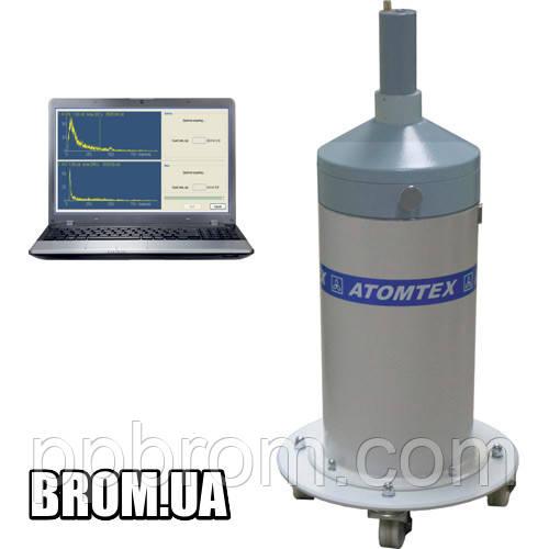Спектрометр гамма излучения и бета излучения МКС-АТ1315 АТОМТЕХ с компьютером и принтером