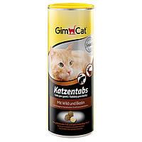 GimCat Katzentabs со вкусом дичи Витамины для кошек со вкусом дичи и биотином. 425