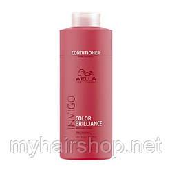 Бальзам для окрашенных нормальных и тонких волос WELLA  Invigo Color Brilliance Conditioner Fine Hair 1000 мл