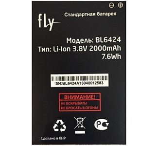 Аккумулятор на Fly BL6424 (Fly FS505 Nimbus 7), 2000mAh Оригинал