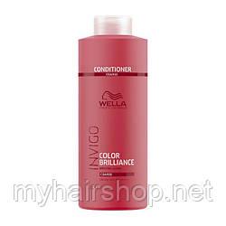 Бальзам для окрашенных жестких волос WELLA Invigo Color Brilliance Conditioner Coarse Hair 1000 мл