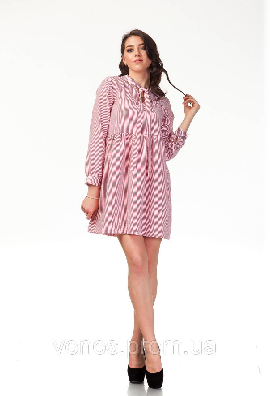 Летнее женское платье из хлопка. П121