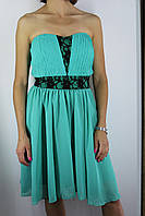 Платье  женское бирюзовое 005