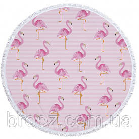 Пляжный Коврик Фламинго 2