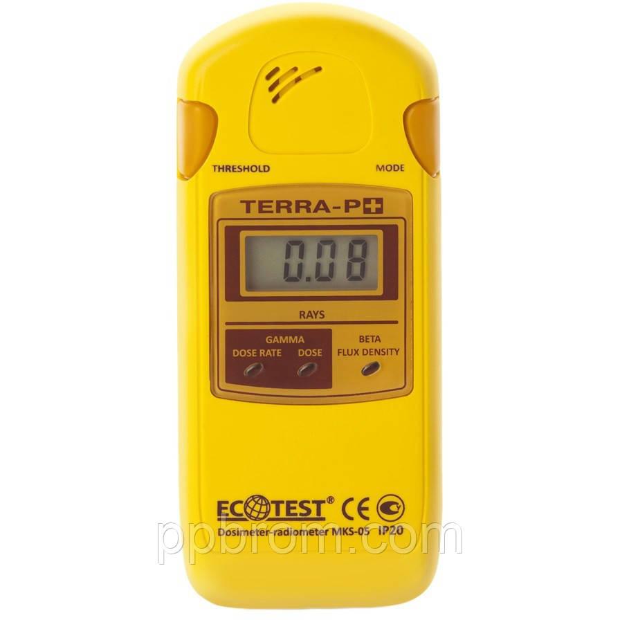 Дозиметр-радиометр бытовой МКС-05 ТЕРРА-П+ Плюс