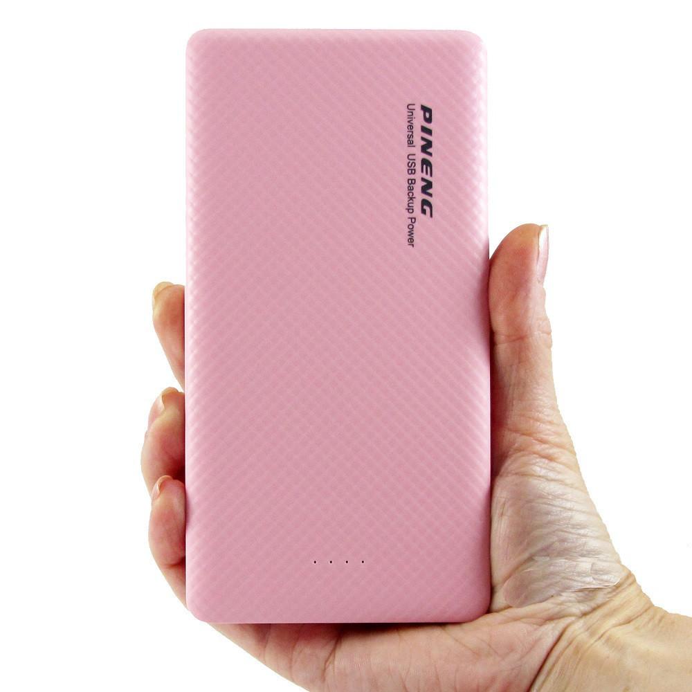 Портативный аккумуляторPineng PN-958 10000mAhРозовый