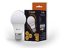 LED лампа А60 10Вт Е27 4200K ELCOR